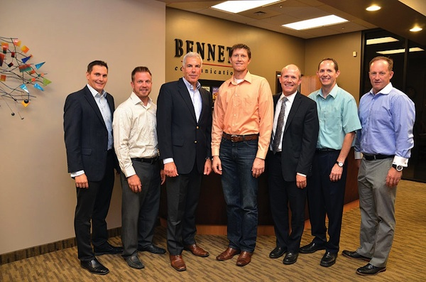 From left: Chad Bennett, Lancera; Tim Provost, Blendtec; Scott Schwerdt, Nu Skin; McKay Brown, Novell;  Lee Wright, Kirton McConkie; Rob Galloway, US Synthetic; Clint Sanderson, buypd.com.