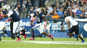 Jamaal Williams rushed for 107 yards on 21 carries. (Photo by BYU Photo.)