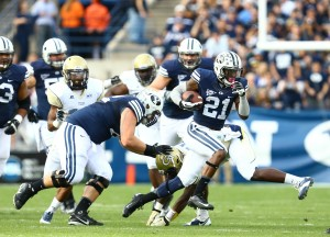 Running back Jamaal Williams had 86 yards rushing on 17 carries and one touchdown.