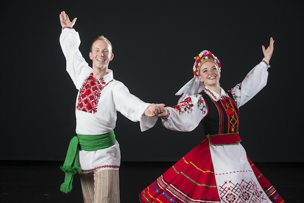 "The BYU Folk Dancers will perform in ""Christmas Around the World,"" a performance representing Christmas celebrations in different countries. (Photo by BYU Photo)"