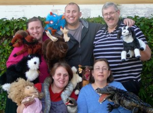 """The Pulley Puppets will perform """"Turkey Tales with a Twist"""" on Saturday at the SCERA Center for the Arts. (Photo courtesy SCERA Theatre)"""