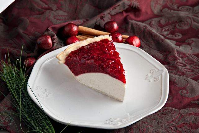 Kneaders' raspberry cheesecake pie is an employee and customer favorite.