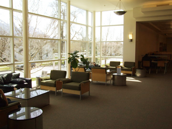 This is one of the library's many comfortable reading nooks. (Photo courtesy of Provo City Library)