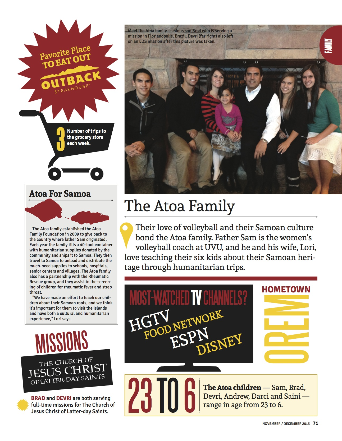 Atoa Family