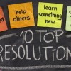 New Years resolution feature