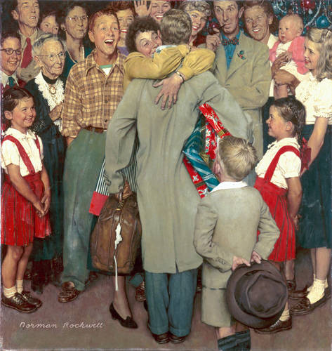 Norman-Rockwell-Christmas-Homecoming-1948