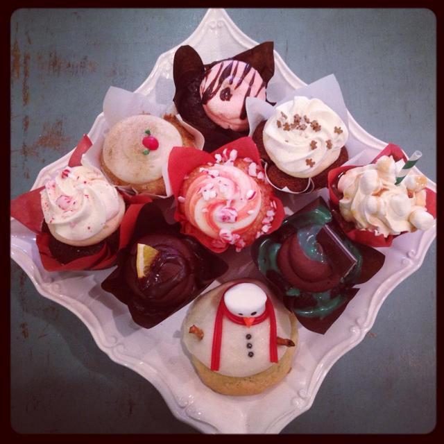Cravings Alisha's Cupcakes has a full lineup of delicious holiday cupcakes this season.