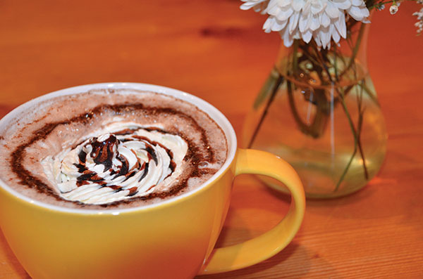 The Chocolate is well-named as we name it the top spot for hot chocolate in Utah County.