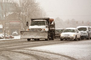 Utah County snowplows were pulled into action early Tuesday morning in an attempt to keep roads clear and driving conditions safe.