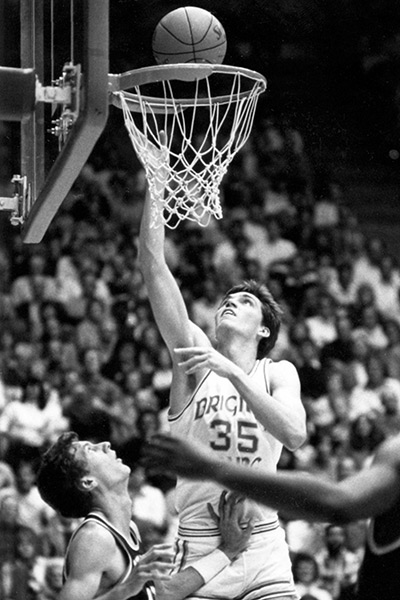 Devin Durrant is the No. 4 all-time scorer in the history of BYU basketball.  (Photo courtesy BYU Photo)