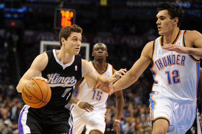 Jimmer Fredette was (Photo by Mark D. Smith/USA Today Sports)
