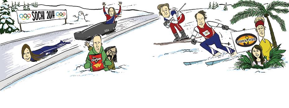 Winter Wonderland Cartoon