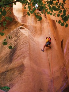 Canyoneering can be done (Photo courtesy St. George Convention & Tourism Office)