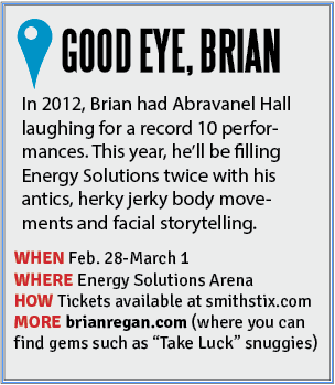 Brian Regan show