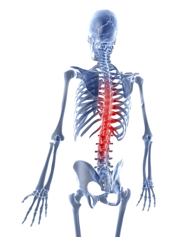Pain medication isn't the only way to solve chronic pain, such as back pain. (Stock Photo)