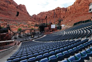 The Tuacahn is an outdoor theater with Broadway quality performances. (Photo by Dave Becker)