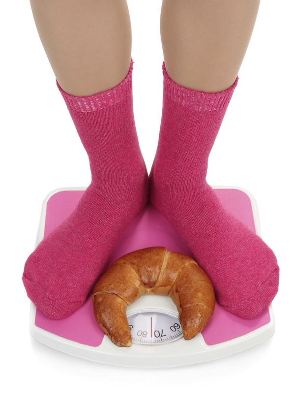 The most common New Year's resolution is weight lose. (Stock Photo)