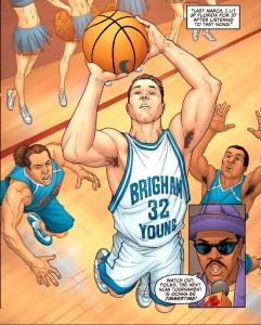 Cartoon that appeared in Sports Illustrated 2011.