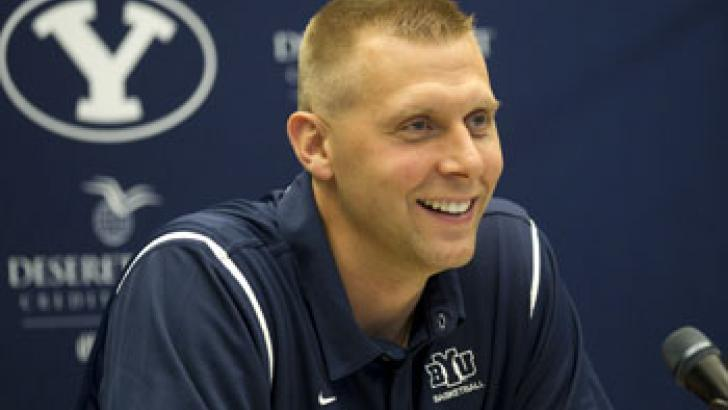 Mark Pope (Photo courtesy BYU Photo)