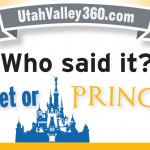 Who said it: Prophet or princess?