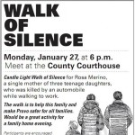Walk of Silence for mother of three killed in Provo accident