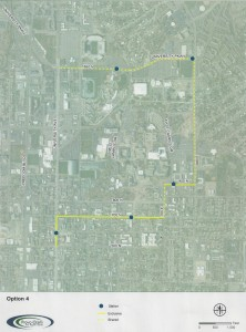 The Provo council is reconsidering Route 4. (Photo courtesy Provo city)