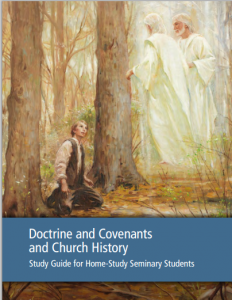 The cover art for the new Church History seminary manual was commissioned for the project. The new manual aims to better prepare youth for a lifetime of Church service. (Photo from LDS.org.)