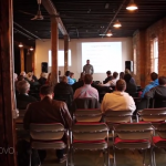 Local entrepreneurs gather weekly to promote collaboration