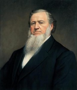 Brigham Young authorized the call of a few missionaries to California to prospect for gold. (Photo courtesy Mormon Newsroom.)