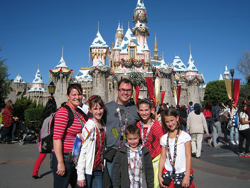 The Maloy family of Payson visits Disneyland Resort several times each year.