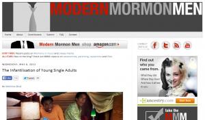 Modern Mormon Men something here. (Image from modernmormonmen.com.)