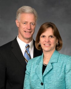 Kevin J Worthen and Peggy Worthen (Photo courtesy LDS Church)