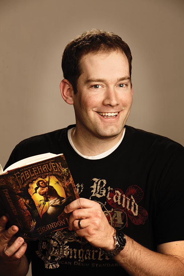 Best-selling author Brandon Mull signing new book at three ...