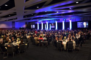 About 650 people attended the Pillar of the Valley event Friday night at the Utah Valley Convention Center.