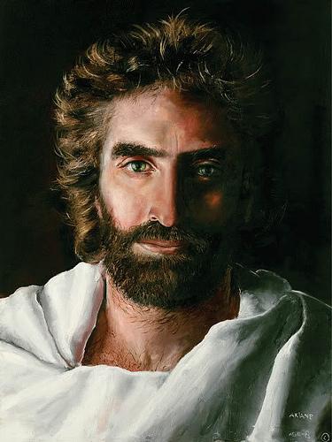 This painting of Jesus...
