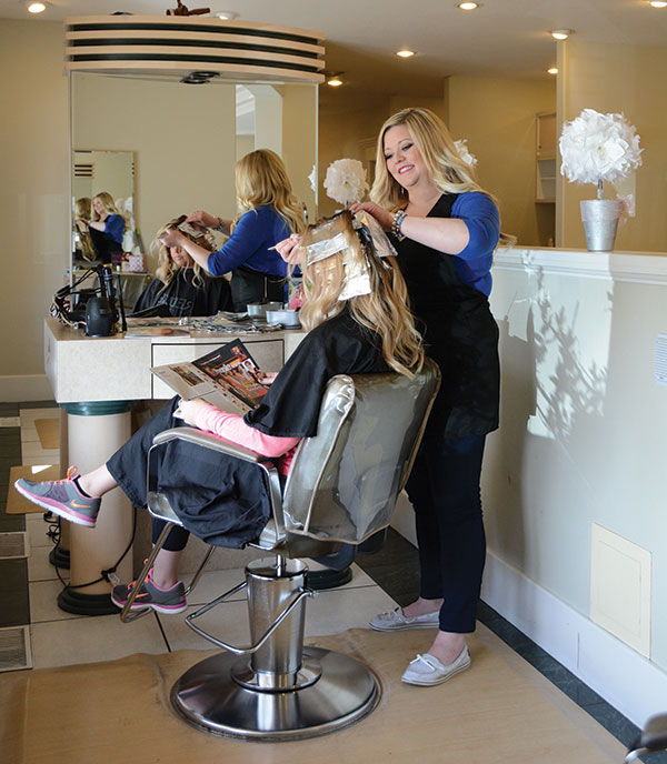 Utah Valley Magazine readers named Brittany Fish at Suggestions the best stylist in town.