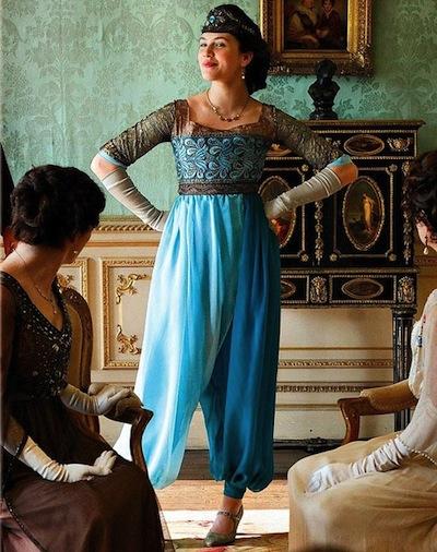 Downton Abbey- Sybil's pants
