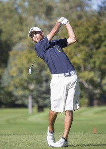 Joe Parkinson won the Utah State Amateur Championship in 2010. (Photo by Mark A. Philbrick, BYU Photo)