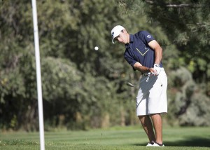 Former Lone Peak High golfer Joe Parkinson is now a sophomore on the BYU men's golf team. (Photo by Mark A. Philbrick, BYU Photo)
