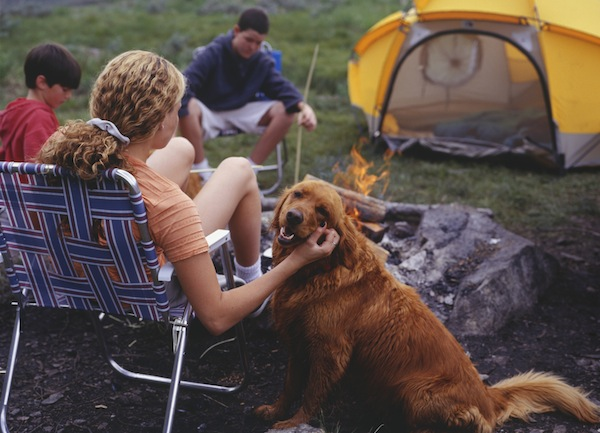 Teach kids to appreciate the great outdoors by going on a family camping trip. (Stock Photo)