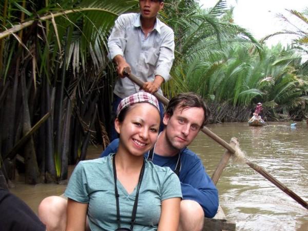 Mark and Britnee in Vietnam (2)