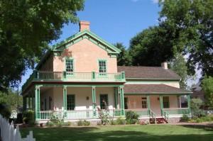 Brigham Young's Winter Home something something. (Photo courtesy Mormon Newsroom.)
