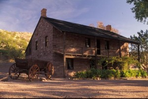 The Jacob Hamblin Home something something. (Photo courtesy Mormon Newsroom.)