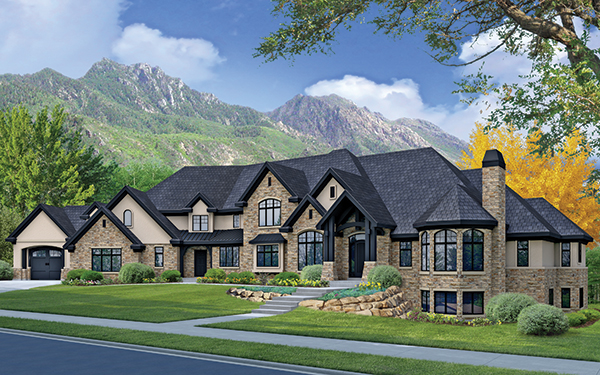 Mcewan custom homes leads utah valley parade of homes for Custom homes photos