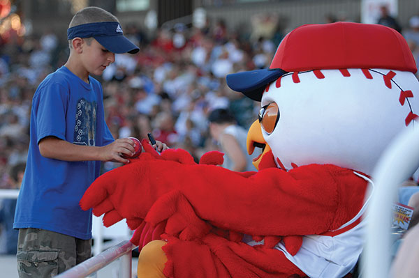 The Orem Owlz don't have any home games until the middle of June.