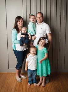 Ryan Seamons is married with four kids.