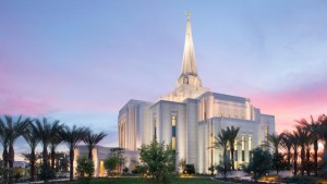 The Gilbert Arizona Temple was dedicated in March 2014. (Photo courtesy LDS Church)