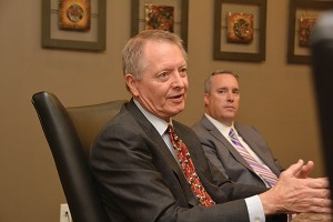 Robert McKinley, Kirton McConkie; Joel Steadman, Corporate Alliance.