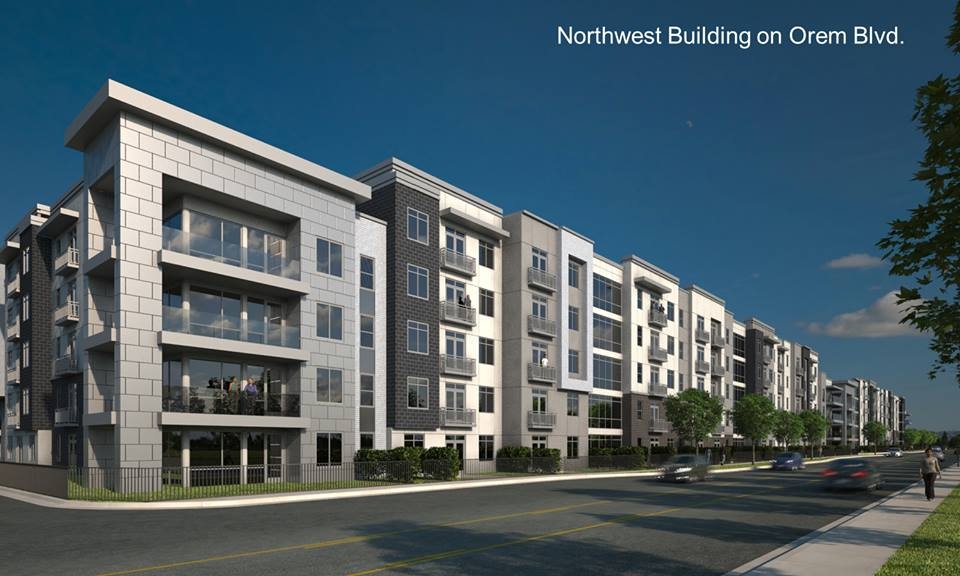 A rendering of the northwest side of Mitdtown 360, which should be completed in 3-4 years. (Photo courtesy Coldwell Banker Commercial Intermountain)
