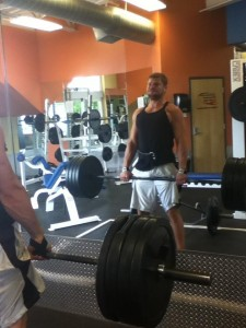 """Exercise has been a huge factor in Jensen's recovery process. """"My body was weak. Instead of rehabilitating it, I was masking and numbing the pain with pills. Now, instead of numbing the pain with pills, I am to focused on making my body stronger."""" Eric is now a certified personal trainer. He also works as a lab coordinator for Jean Brown Research."""